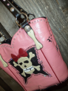 614-11 Pink Liberty Rock on Boots!