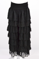 Sassy Pants Ruffle Pants Black