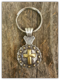 Cross Concho key chain