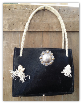 Cowhide Bag black