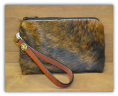 Cowhide Clutch bag