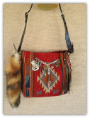 201a Foxy Saddle Blanket Bag!