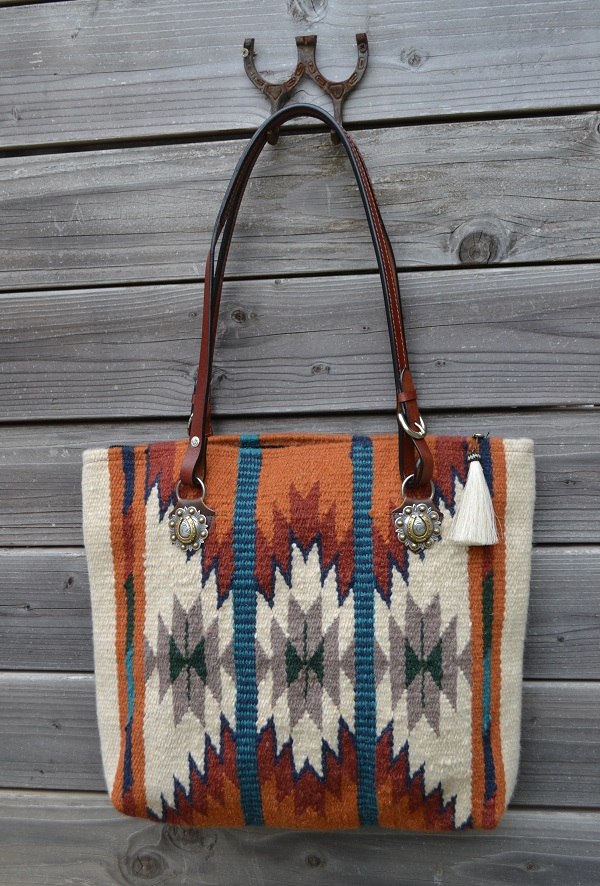 Indian Chief blanket bag