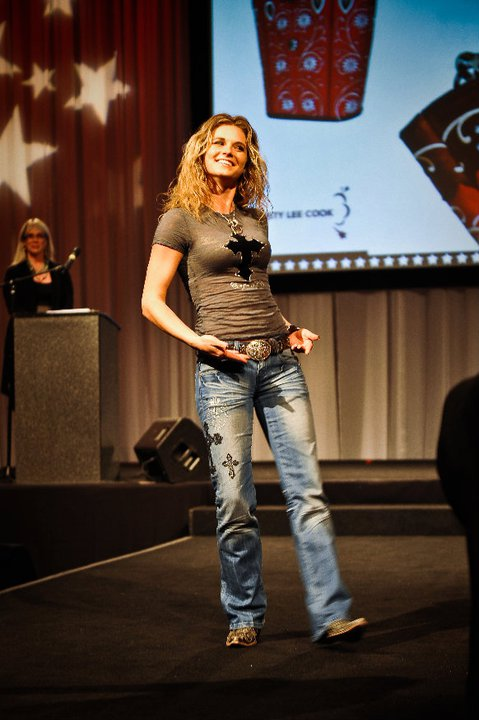 Kristy Lee Cook with Diamond 57