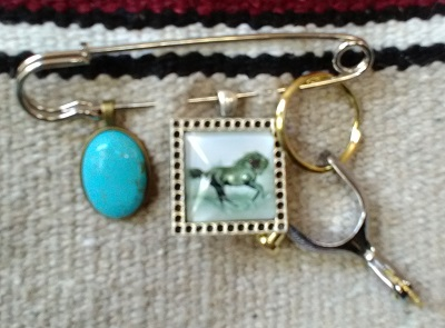 Trinket Pin for Saddle Blanket Bag