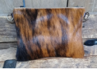 cc305 Brindle Cowhide cross body bag