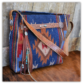 114 Custom saddle blanket bag tote