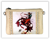 Vintage Rodeo Cowgirl Clutch bag