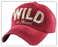 Baseball Cap Wild at Heart