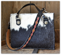 Cowhide Hair on purse