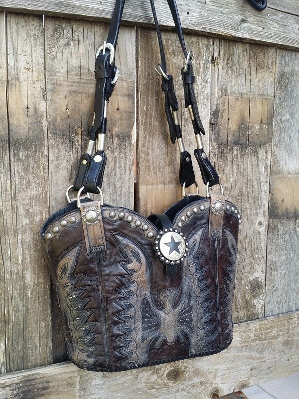 cowboy boot purse made in usa