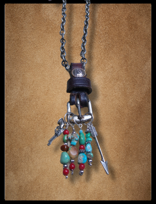 recycled horse tack jewelry turquoise jewelry