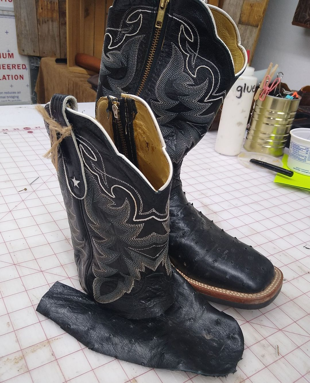 custom cowboy boot purse