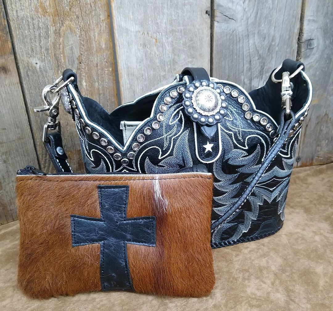 Custom purse from your boots