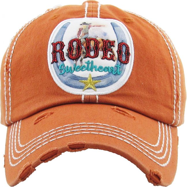 Vintage ball cap Rodeo Sweetheart