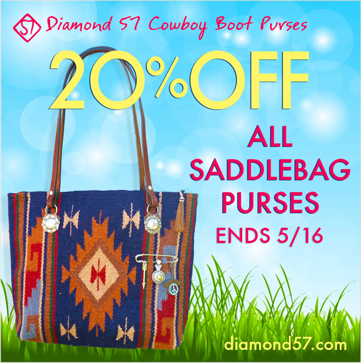 Discount on Saddle Blanket Bags!